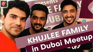 KhujLee Family (Awesamo Speaks) Meetup Dubai Vlog#1 | TECHZEE