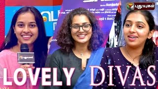 Lovely Divas, Valentines Day Special show 14-02-2016 | Puthuyugam Tv programs 14th february 2016