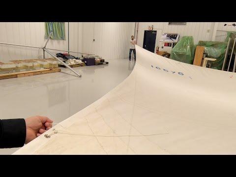 Recutting a Sail's Leech and Foot Edge