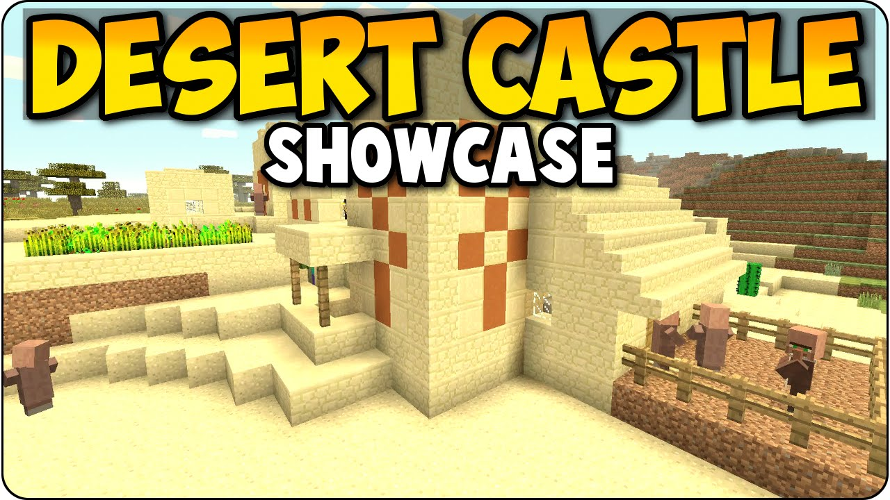 Minecraft Xbox 12 & PS12 Rare Village Desert Temple - Seed Showcase/ Review  PS12, Xbox One Edition