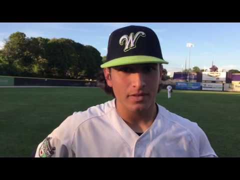 Worcester Bravehearts Mason Feole Post Game 7/24/16