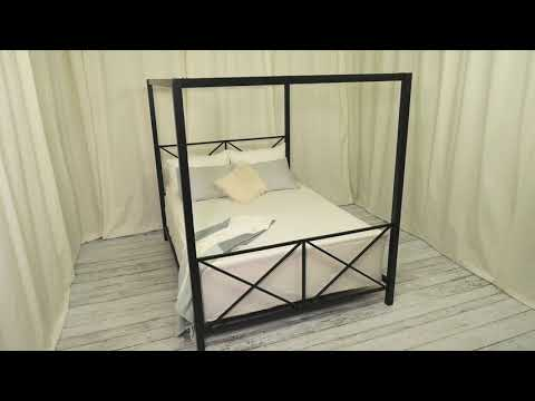 DHP Rosedale Canopy Queen Bed