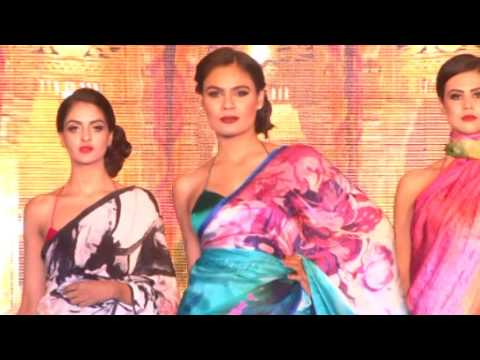 DVD5th indian silk export promotion council expo 2016, fashion show