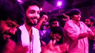 EXCLUSIVE : Anirudh & Karthik Subbraj MORATTU MASS DANCE At Rohini Theatre - Petta 25Day Celebration