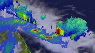 GPM 3-D Flyby of Rainstorm Over Gulf of Mexico