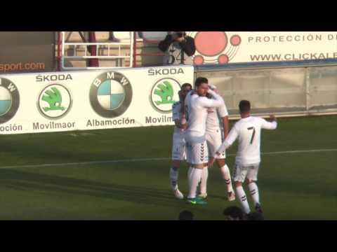 Resumen Albacete Balompié - Gernika Club
