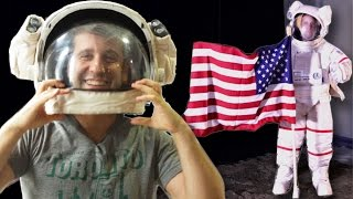 We Recreated The Moon Landing To See If It Really Happened by : BuzzFeedBlue