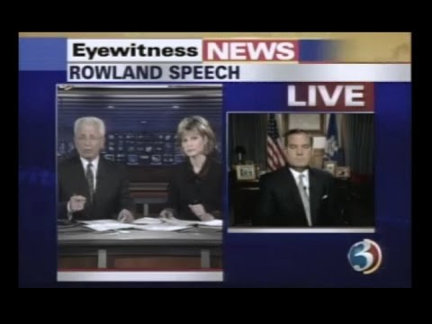 WFSB: Channel 3 Eyewitness News at 6:00 - 'Capitol Crisis' Coverage  [1-7-2004]