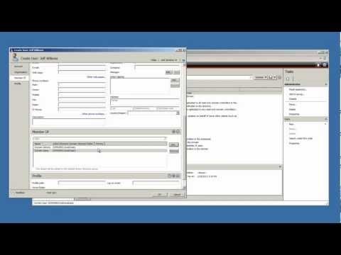 Window Server 2008 R2 Tutorial - Create Active Directory User Account