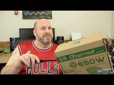 InWin 650W GreenMe Series Power Supply Unboxing