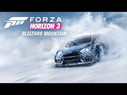 Forza Horizon 3 – Blizzard Mountain 拡張パック