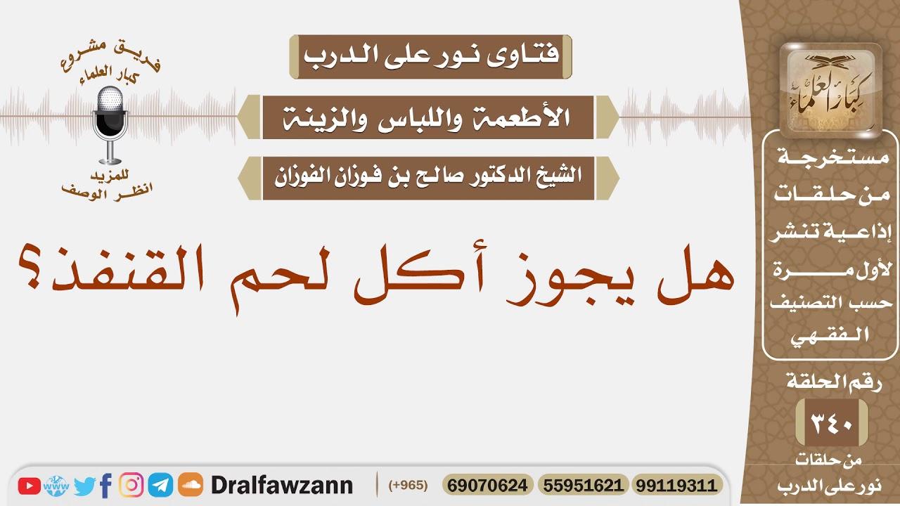 هل يجوز أكل لحم القنفذ الشيخ صالح بن فوزان الفوزان Youtube
