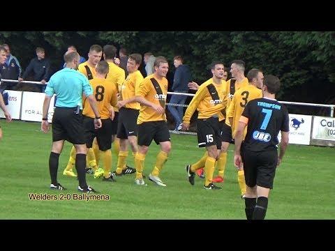 H&W Welders vs Ballymena United, Saturday July 22nd 2017