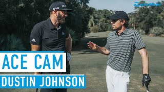 Can Dustin Johnson make a Hole in One?