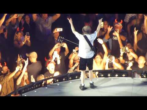 AC/DC (with Axl Rose) – Let There Be Rock/Angus Young guitar solo