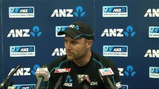 Brendon McCullum before West Indies Wellington Test