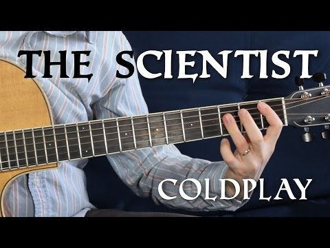 The Scientist Guitar Tutorial | Coldplay - No Capo