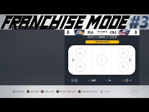 Year 1 Playoffs - Columbus Blue Jackets Franchise Mode (NHL 17 #3)