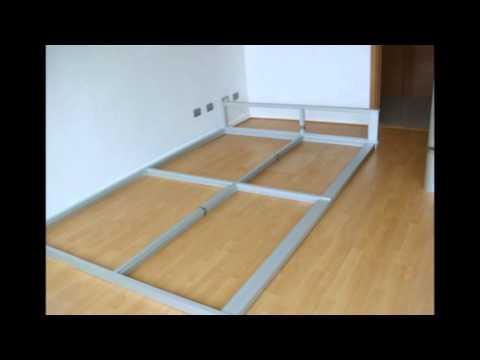 Separador de oficinas aluminio y cristal youtube for Separadores de oficina