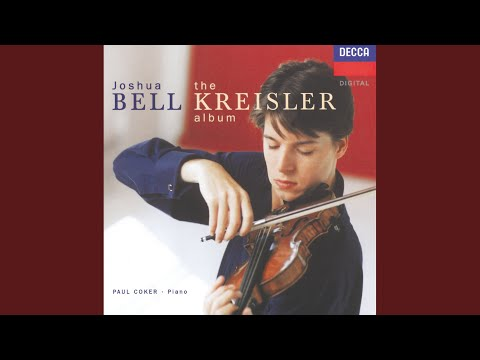 Kreisler: Sicilienne and Rigaudon (in the style of Francois Francoeur)