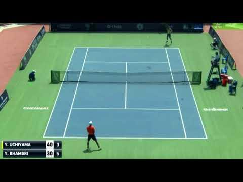 Yuki Bhambri vs Yasutaka Uchiyama   QF Chennai ATP Challenger 2018