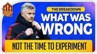 WHAT SOLSKJAER GOT WRONG vs Everton! Man Utd News