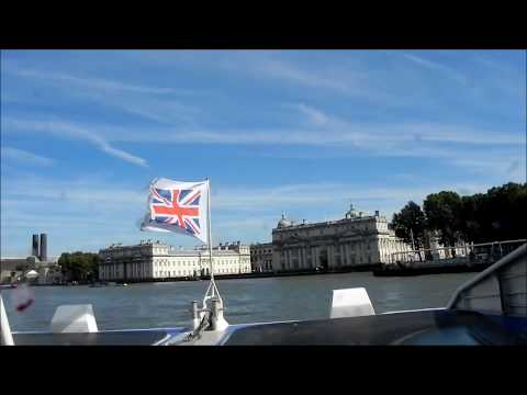 The Thames Boat Trip to Greenwich HD