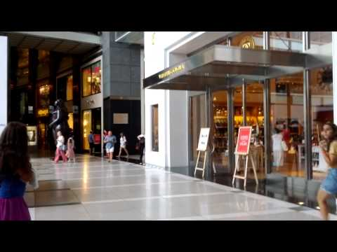 A Tour of the Columbus Circle Mall on Broadway and 58th Street, New York City, New York