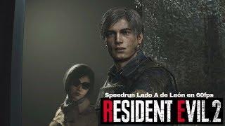 Resident Evil 2 Remake - Leon A Speedrun Any% 60fps - Gameplay En Español