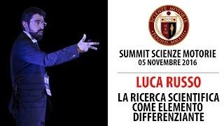 Estratto Summit: La Ricerca Scientifica come elemento differenziante - Luca Russo