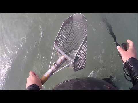 Beach Metal Detecting La Jolla CA 1/1/18