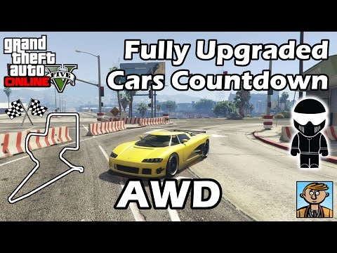 Fastest All Wheel Drive Cars (2015) - Best Fully Upgraded Cars In GTA Online