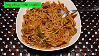 Veg chowmein / Chowmein noodles  / Chowmein masala