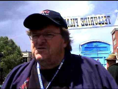 Michael Moore interview about the Golden Nugget Casino in Las Vegas