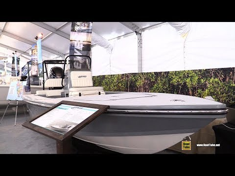 2019 Hewes Red Fisher 18 Boat - Walkthrough - 2019 Miami Boat Show