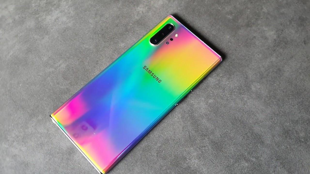 Samsung Galaxy Note 10 Aura Glow Youtube