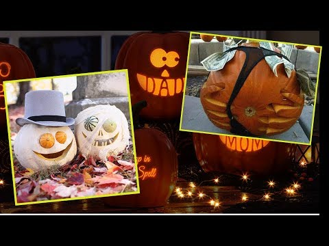 A Fantasy Of Pumpkins: 10 Creative Pumpkin-carving Ideas