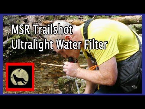 MSR TrailShot Pocket-Sized Water Filter - Best Ultralight Water Filter - Plus a Mod