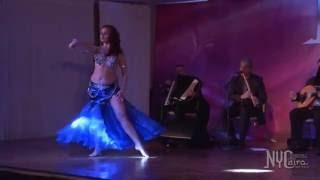 Lidia Pleiada  Queen 1st Place winner NYCairo 2016