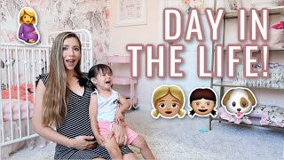 DAY IN THE LIFE OF A YOUNG MOM!