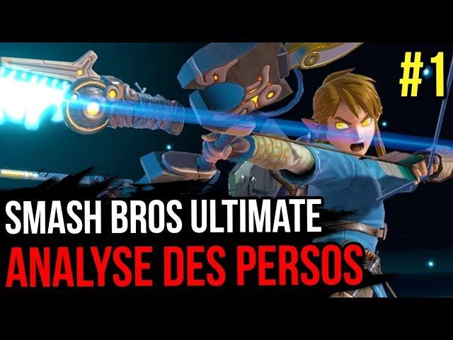 SMASH BROS ULTIMATE : ANALYSE DES PERSOS (1/4)