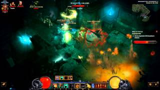 Diablo 3 - seismic slam - immortal barbarian - fire build - Torment 4 rift