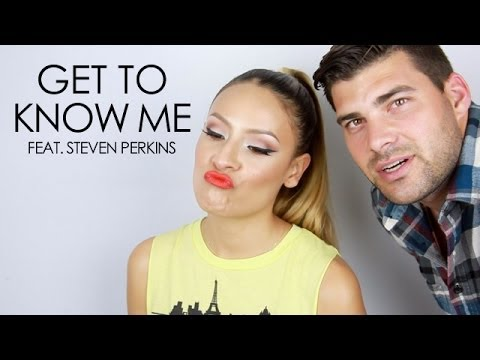 Get To Know Me Desi Perkins Feat The Hubby Steven Perkins Youtube