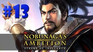 Nobunaga's Ambition: Sphere of Influence - BATALHAS ÉPICAS!!! #13 (Gameplay/PC/PTBR)HD