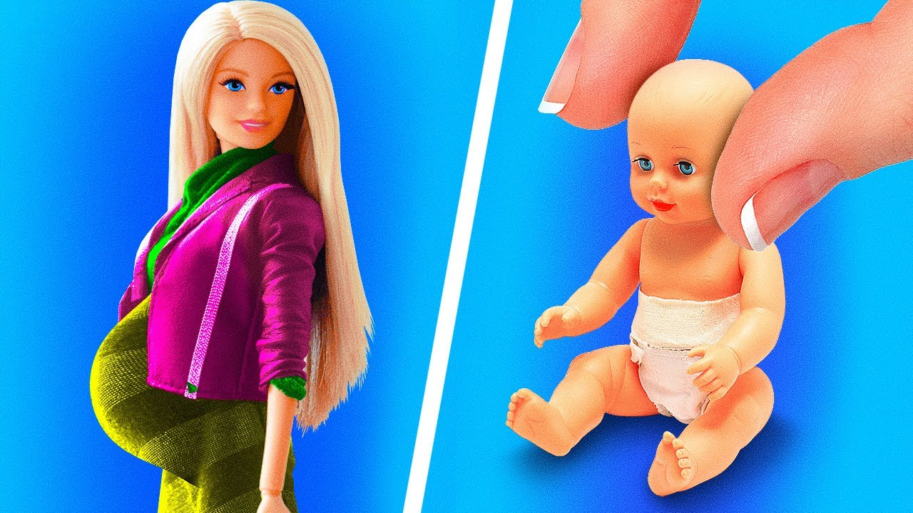 32 DIYs AND CRAFTS FOR YOUR BARBIE DOLL - YouTube