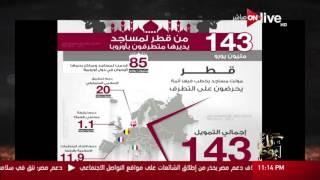 عمرو أديب: «قطر قد المعادي.. معرفش دول الخليج صابرين عليها ليه؟»