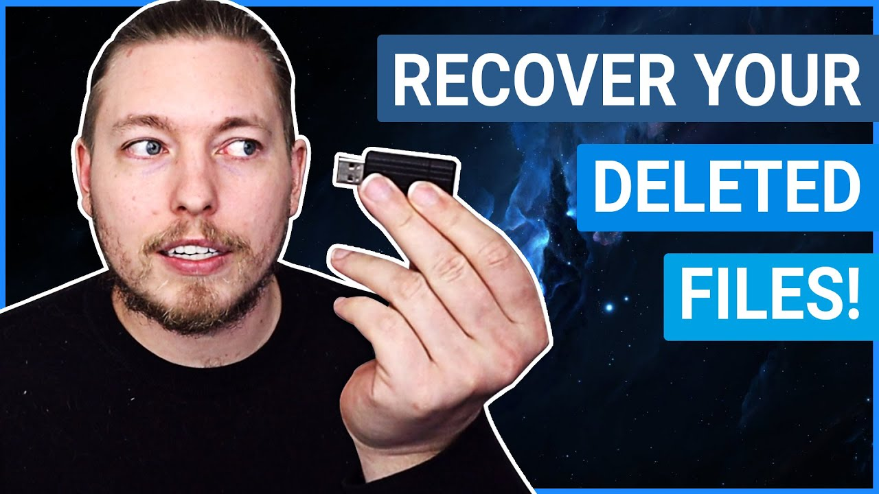 RECOVER YOUR DELETED FILES FOR FREE!   From USB, SD Card, HDDs, etc.