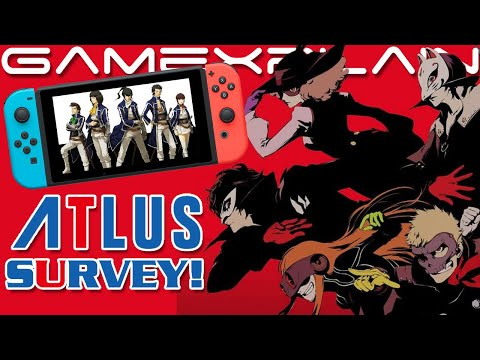 Atlus Survey Asks About Switch Ports, Including Entire Persona & Etrian Odyssey Series!