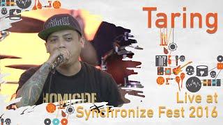 Taring live at Synchronize Fest - 29 Oktober 2016
