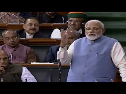 PM Narendra Modi takes a jibe at Rahul Gandhi's 'jhappi' and 'wink'